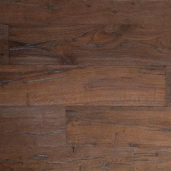 distressed reclaimed textured hardwood flooring